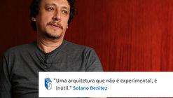 Frases: Solano Benítez e a arquitetura experimental