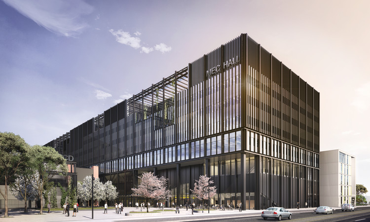 Mecanoo's Design for the University of Manchester's Engineering Campus Eyes the Future, Courtesy of Mecanoo