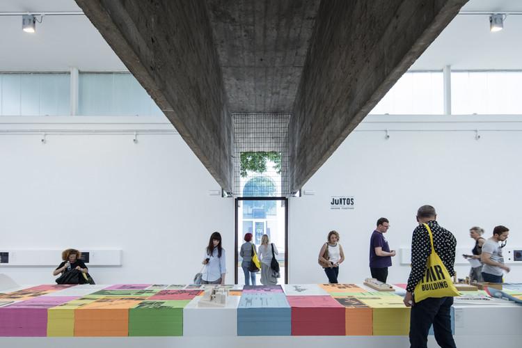 JUNTOS: Pavilhão do Brasil na Bienal de Veneza 2016, JUNTOS / curadoria de Washington Fajardo. Pavilhão do Brasil na Bienal de Veneza 2016. Image © Laurian Ghinitoiu