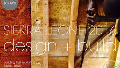 Building Trust International's African Design + Build workshop