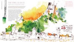 Cómo diseñar, pintar y contar historias con acuarelas, según Felix Scheinberger