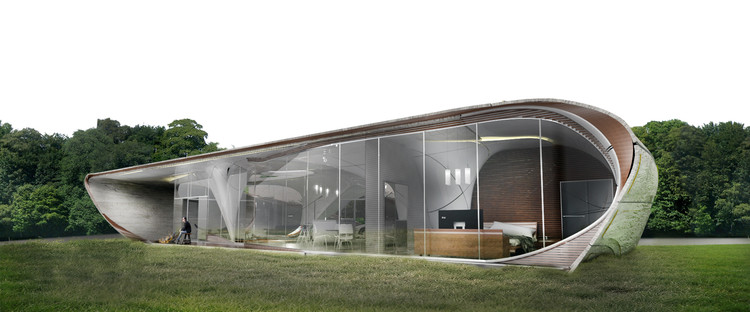 WATG's Urban Architecture Studio Unveils Winning Design for a 3D Printed House, Courtesy of WATG