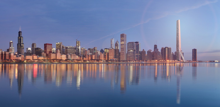 Gensler Devises A Megatall Replacement For The Chicago