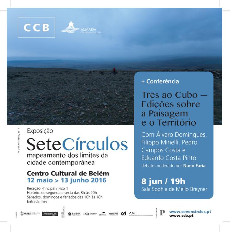 Sete Círculos - Mapeamento dos limites da Cidade Contemporânea, Cortesia de Sete Círculos