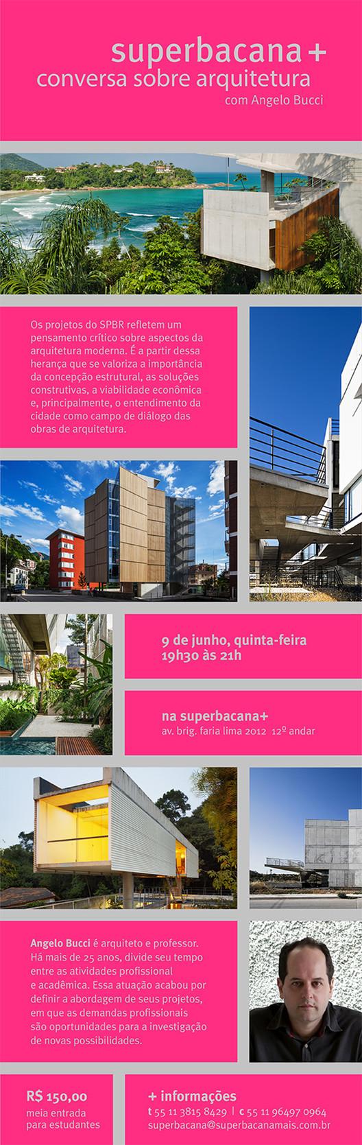 Conversa sobre arquitetura com Angelo Bucci