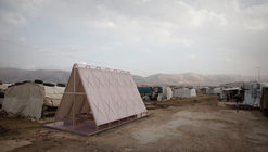 Yale Students Propose a Series of Pop-Up Religious Buildings to Sustain Culture in Refugee Camps