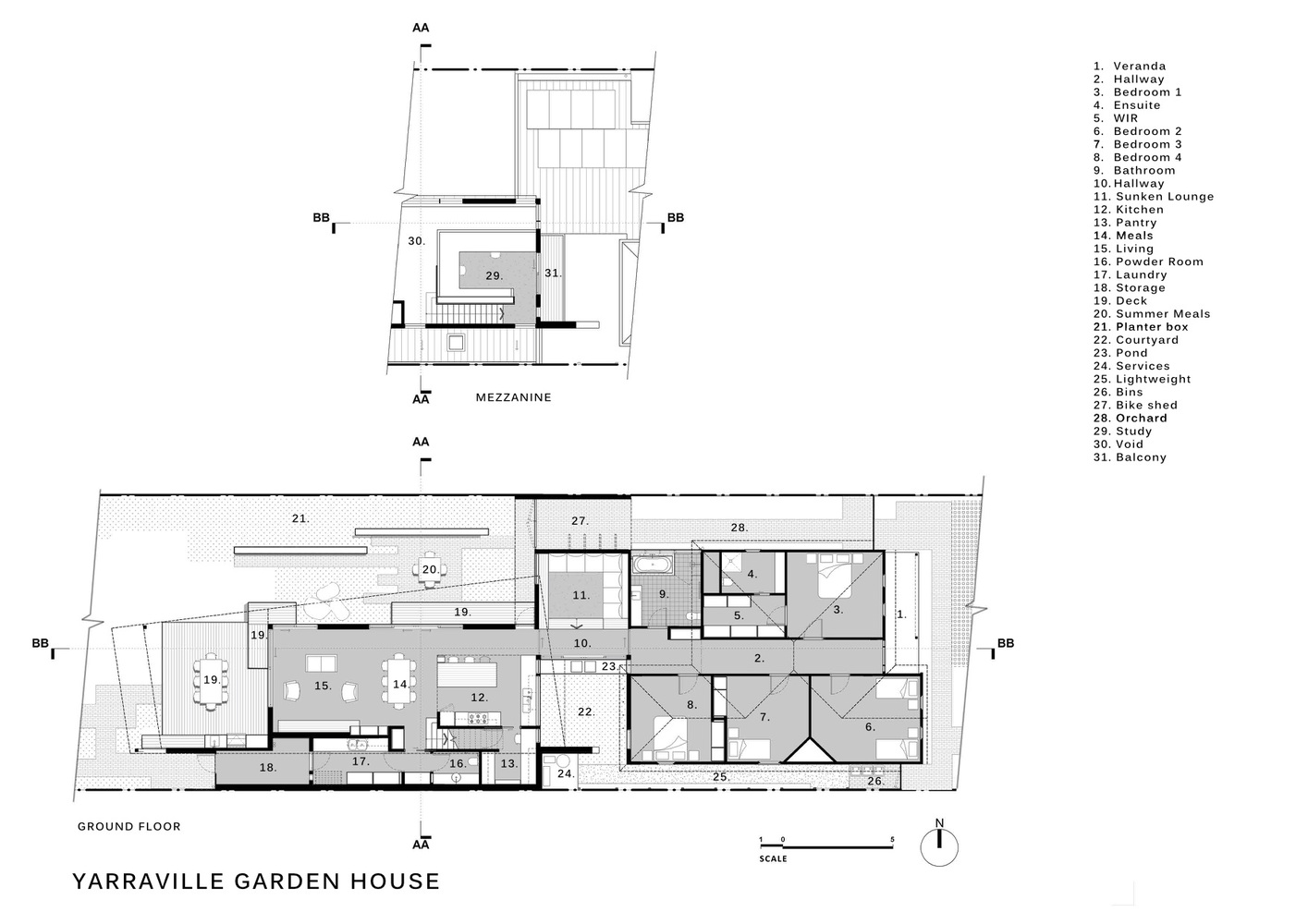 Gallery of Yarraville Garden House Guild Architects 23