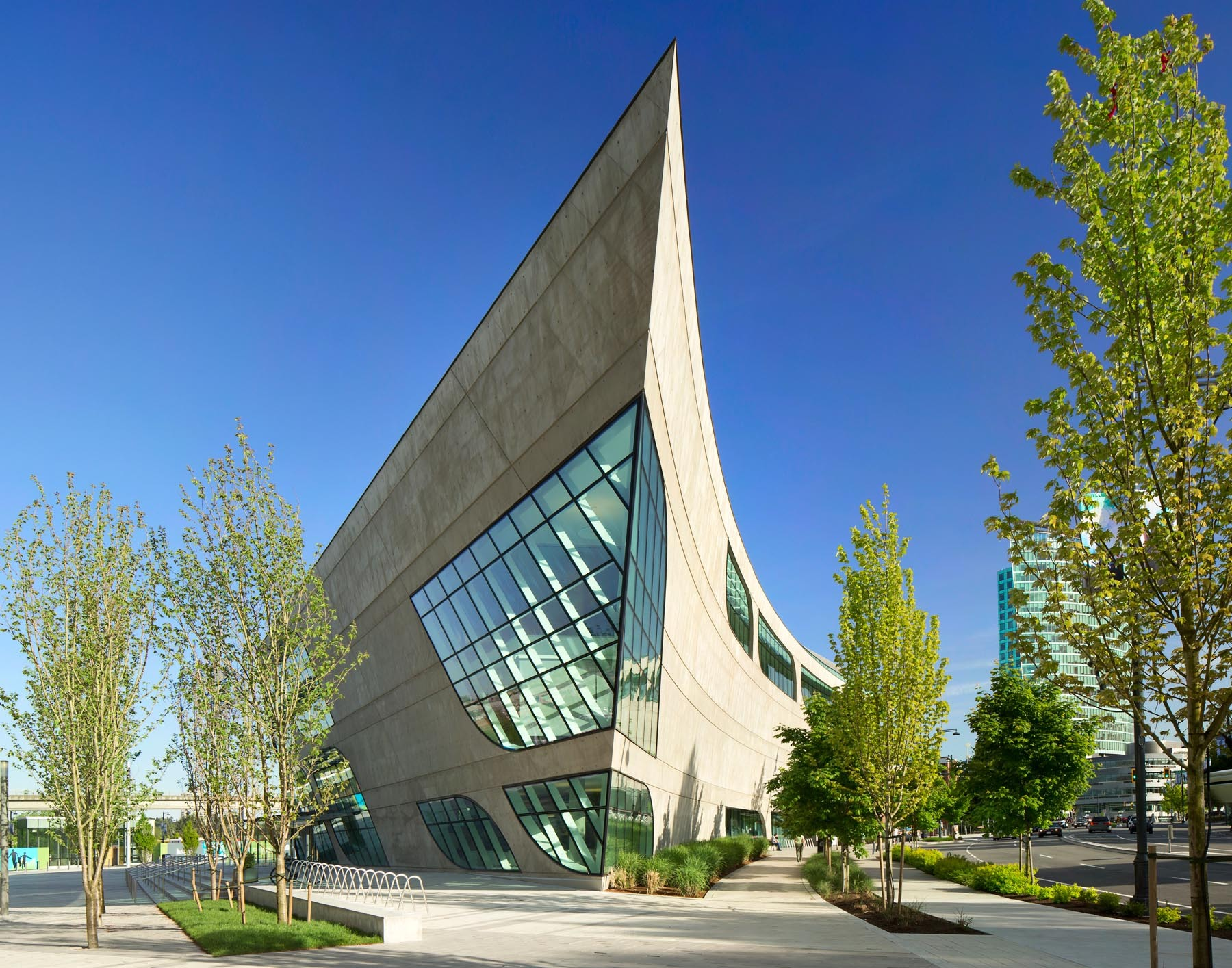 Surrey City Centre Library Bing Thom Architects Archdaily
