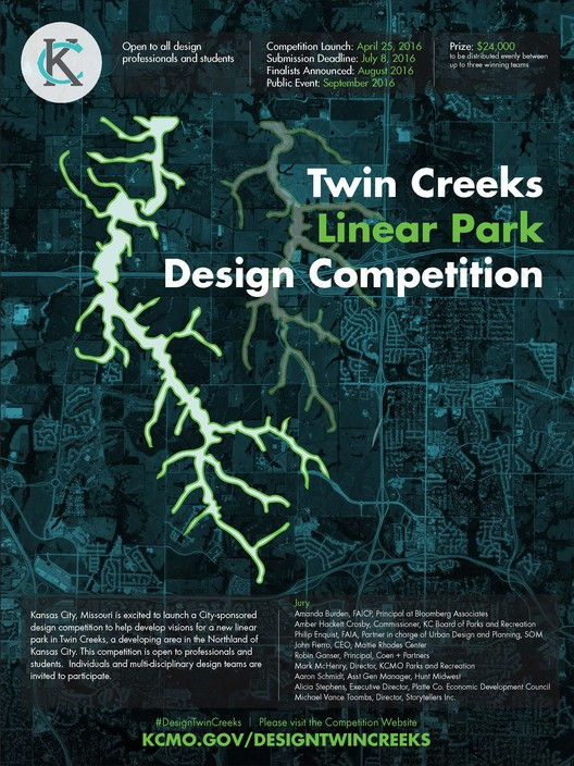 Twin Creeks Linear Park Design Competition, Twin Creeks Linear Park Design Competition