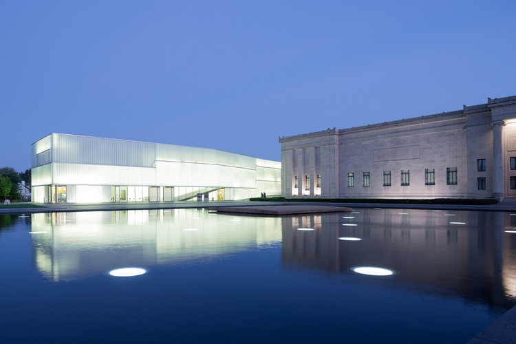 Iwan Baan Photographs Steven Holl's Nelson-Atkins Museum for Its Ninth Birthday, © Iwan Baan