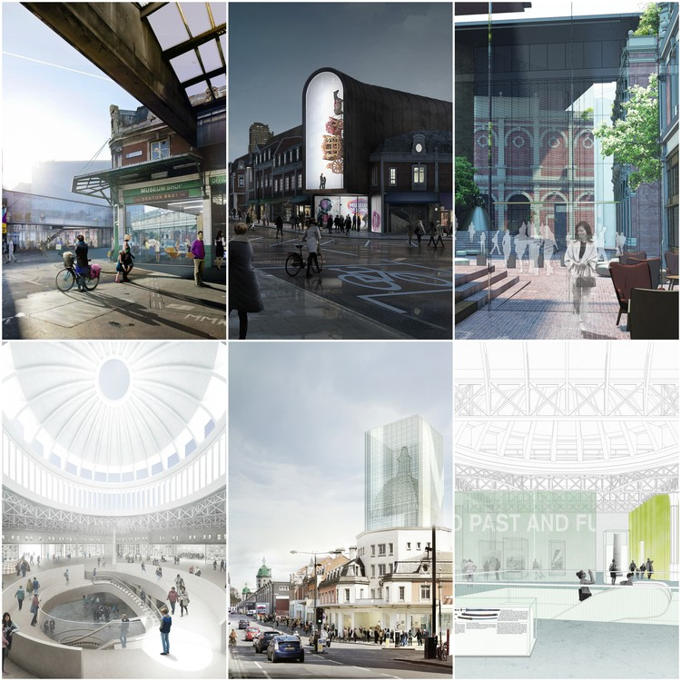 BIG and Lacaton & Vassal Lead Shortlist for Museum of London's Future Home at West Smithfield, Courtesy of Malcolm Reading Consultants