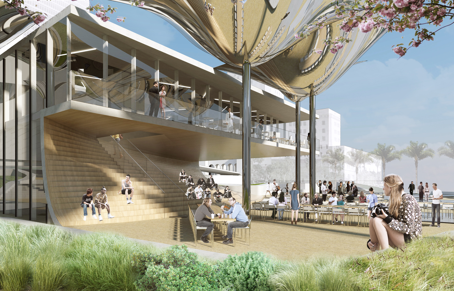 Gallery Of Oma Mla And Ideo Selected To Design New Park