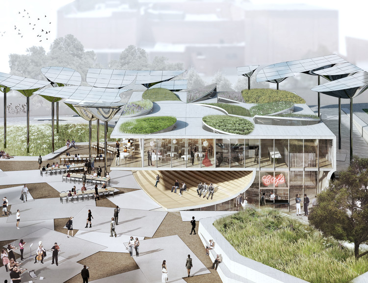 OMA, MLA, and IDEO Selected to Design New Park for Downtown Los Angeles, Courtesy of OMA