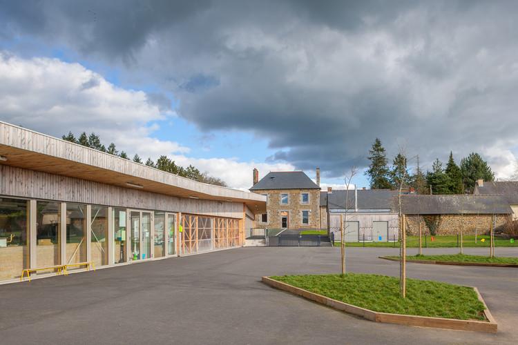 Treverien Primary School  / Guinée et Potin Architectes, © Nicolas Pineau