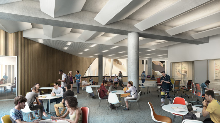 Snøhetta's Library for Temple University Begins Construction, Courtesy of Snøhetta / Methanoia