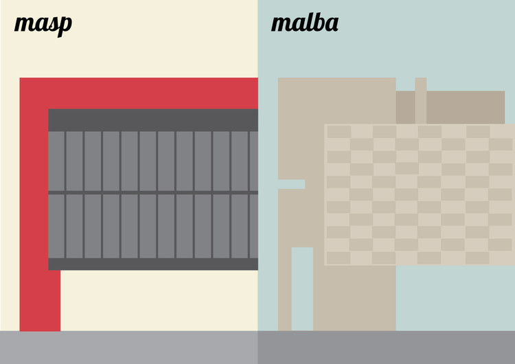 "Arte e Arquitetura: ""Sampa versus Buenos"" por Vivian Mota, © Vivian Mota"
