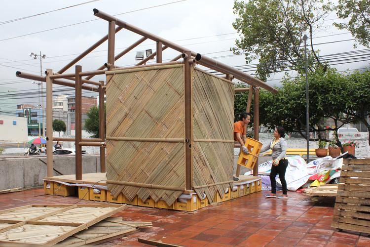 Terremoto en Ecuador: se levanta el primer refugio temporal diseñado por Shigeru Ban para la zona de desastre, Cortesía de Colegio de Arquitectos del Ecuador - Provincia de Pichincha
