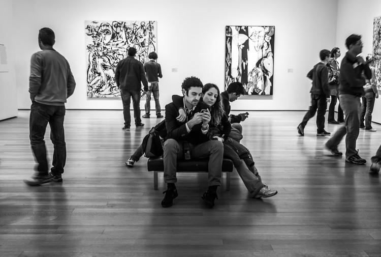 A Experiência Contemporânea do Espaço Museológico, © Susan Sermoneta (CC BY-NC)