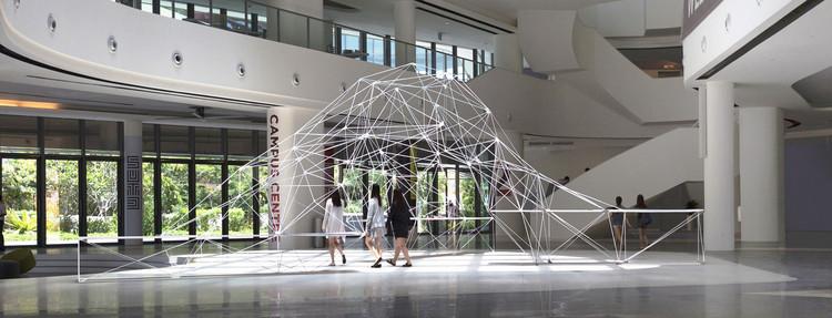 Professores da SUTD constroem pavilhão paramétrico feito a partir de impressão 3D, © SUTD : Felix Raspall + Carlos Bañón