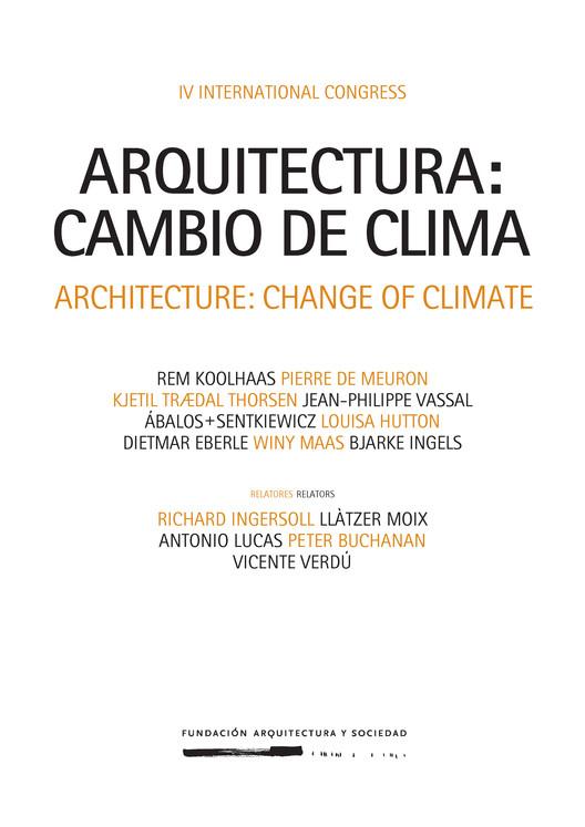 #CambioDeClima: Congreso Internacional de Arquitectura / Pamplona
