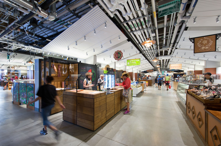 Boston Public Market  / Architerra, © Chuck Choi