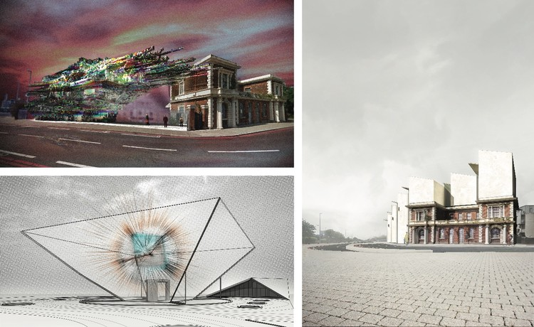 Winners of London Internet Museum Competition Announced, Courtesy of Bee Breeders Architecture Competitions