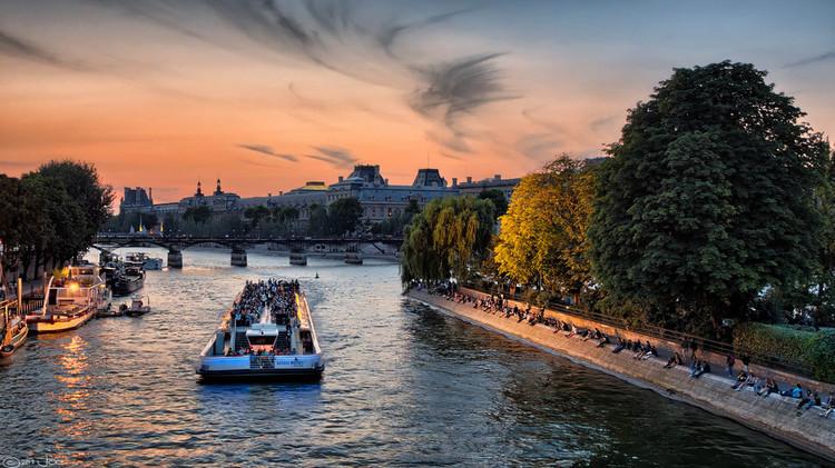París lanza candidatura para los Juegos Olímpicos 2024 con plan que permitiría nadar en el Sena, París. Image © Flickr Usuario Mustang Joe, Licencia CC0 1.0