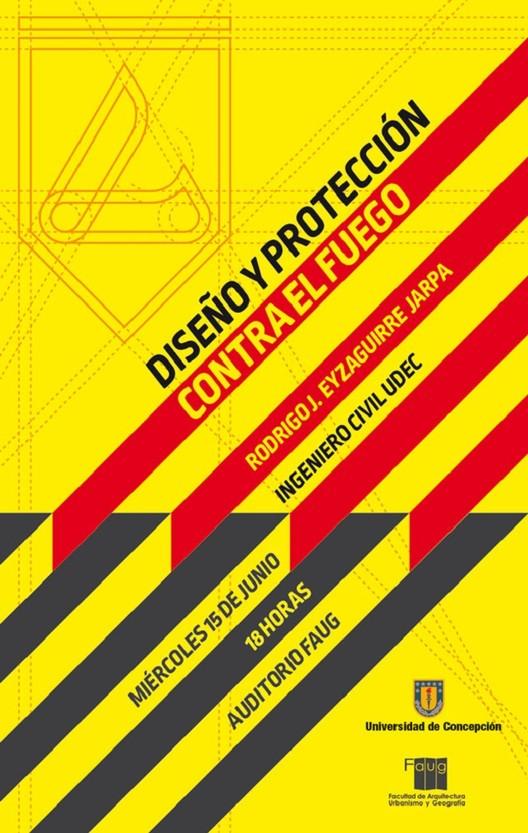 Charla 'Diseño y protección contra el fuego', Laboratorio de Imagen y Comunicación, Faug