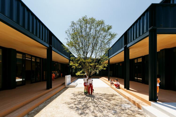 Jardín Infantil OA  / HIBINOSEKKEI  + Youji no Shiro, © Studio Bauhaus, Ryuji Inoue
