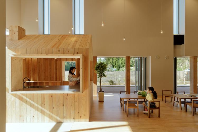 TN Nursery  / HIBINOSEKKEI + Youji no Shiro, © Studio Bauhaus, Ryuji Inoue
