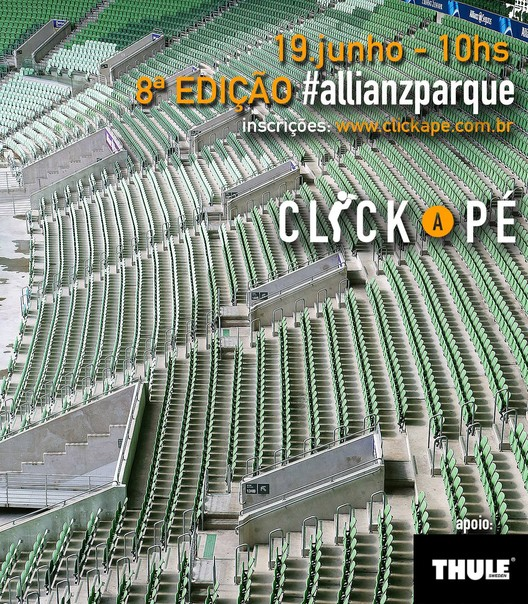 Click a Pé ganha tour exclusivo no Allianz Parque , Roteiro inclui Arcos do Palestra Itália, arquibancadas e laterais do campo