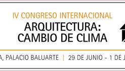 #CambioDeClima: Gana una entrada doble para el IV Congreso Internacional de Arquitectura en Pamplona