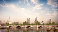 Allies and Morrison Propose Alternative to Contested Garden Bridge
