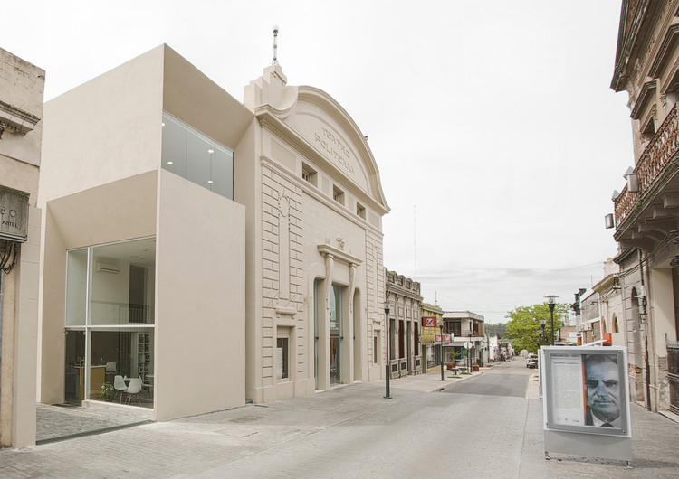 Politeama Theatre  / Estudio Lorieto-Pintos-Santellán arquitectos, © Pablo Pintos