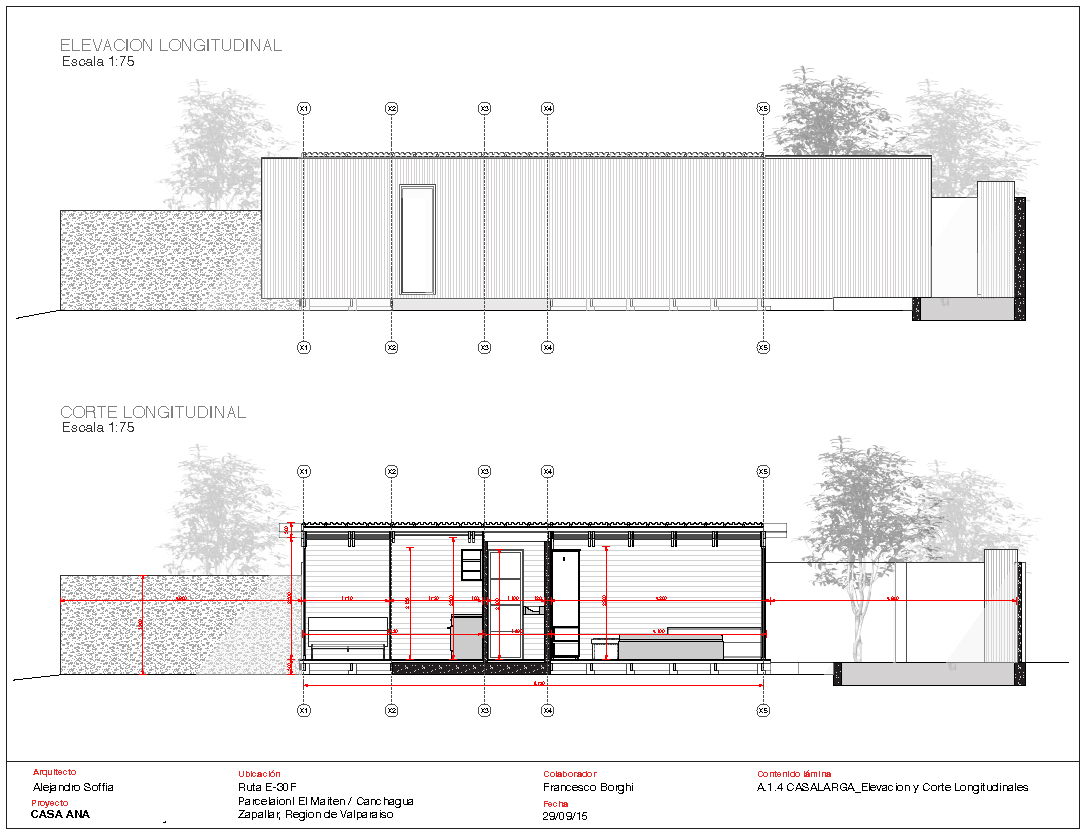 Plan Elevation En Anglais : Gallery of polycarbonate cabin alejandro soffia