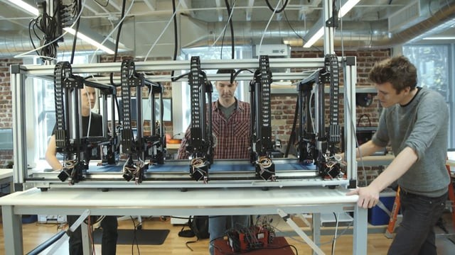¿Imprimir automóviles? Autodesk desarrolla sistema de impresión 3D simultánea y a gran escala