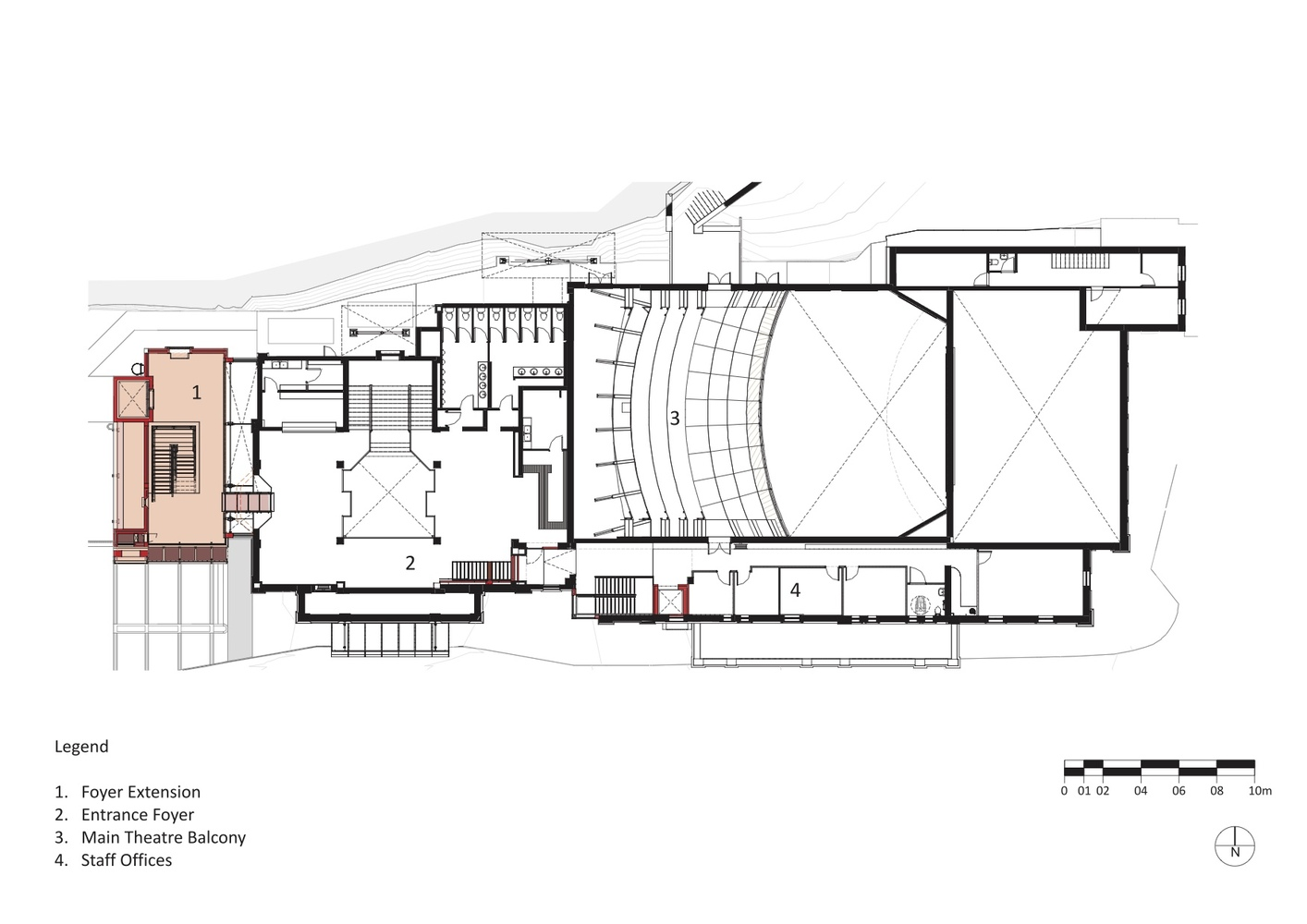 Breathtaking 1st Floor Oslo Opera House Plan Pictures
