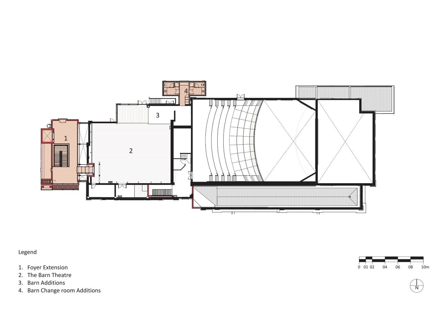 100 Second Floor Extension Plans 01 Rc Bd Ex Plan A