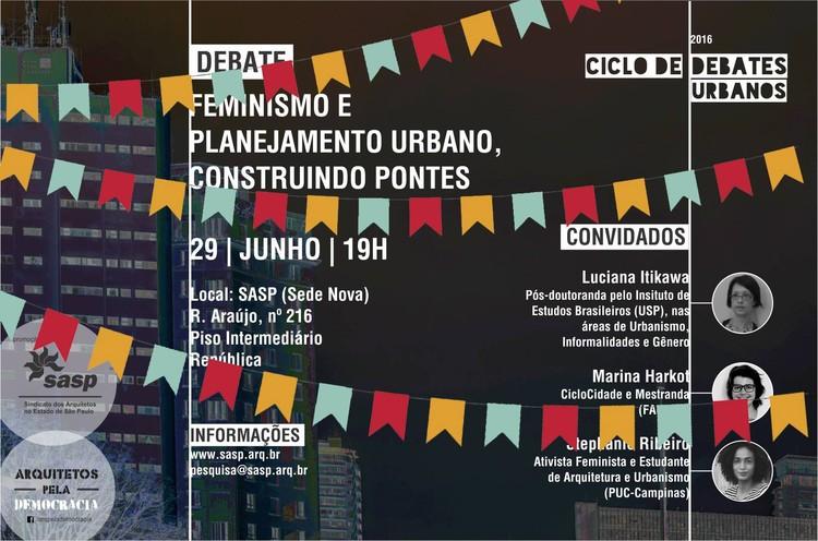 """Debate """"Feminismo e planejamento urbano: Construindo pontes"""" aborda o papel das mulheres na construção das cidades"""