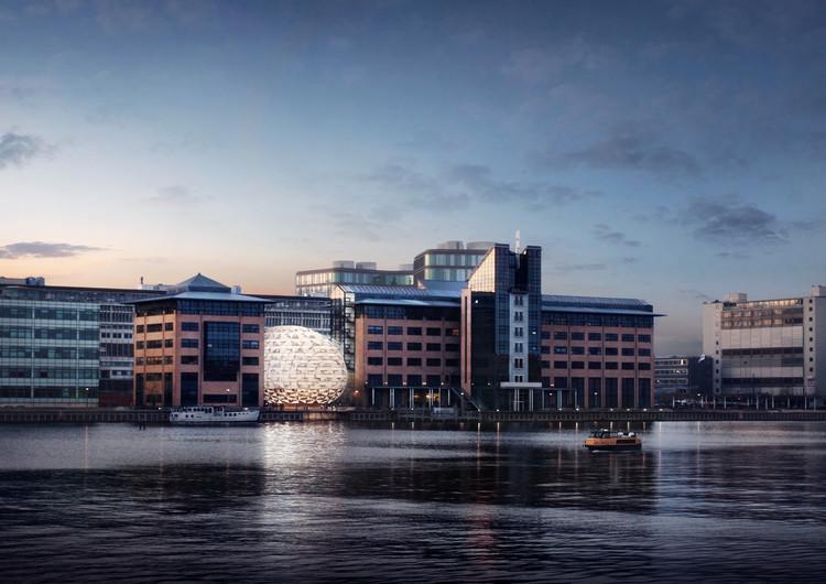 Dorte Mandrup Arkitekter Reveals Shimmering Opal Design for Copenhagen Harbour, Courtesy of Dorte Mandrup Arkitekter