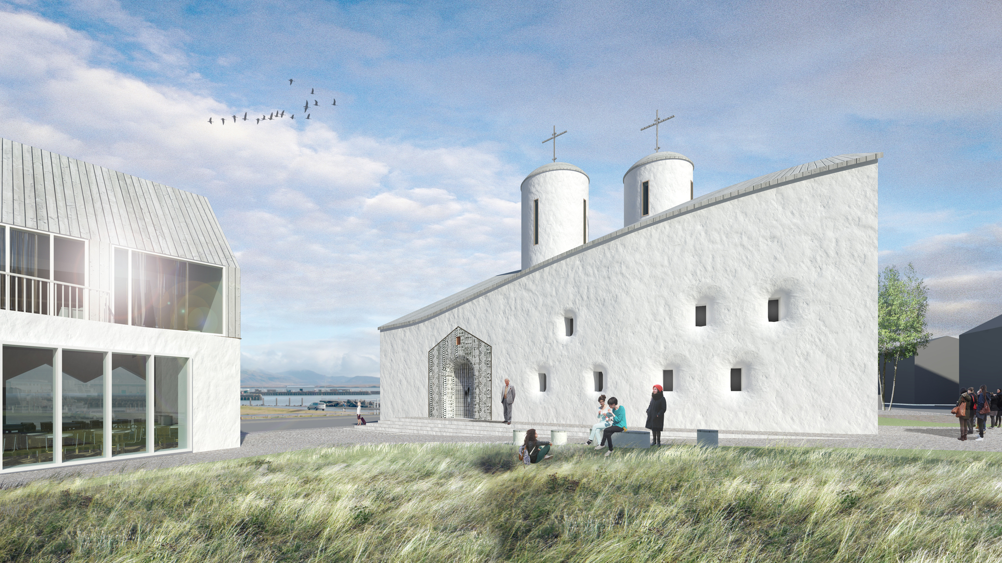 Quadratura Circuli Aim To Revive Russian Religious Architecture With  Cultural Center In Reykjavik | ArchDaily