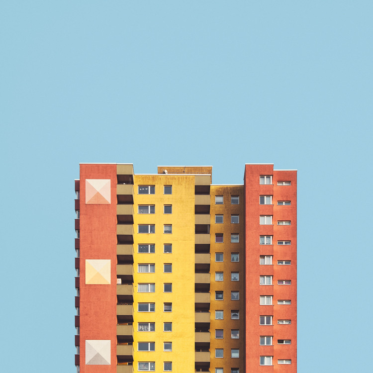 These Striking Photographs Portray Berlin's Post-War Housing Developments in a New Light, © Malte Brandenburg