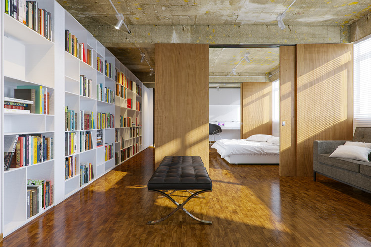 Apartamento GL / Estúdio MRGB, © Hermes Romão