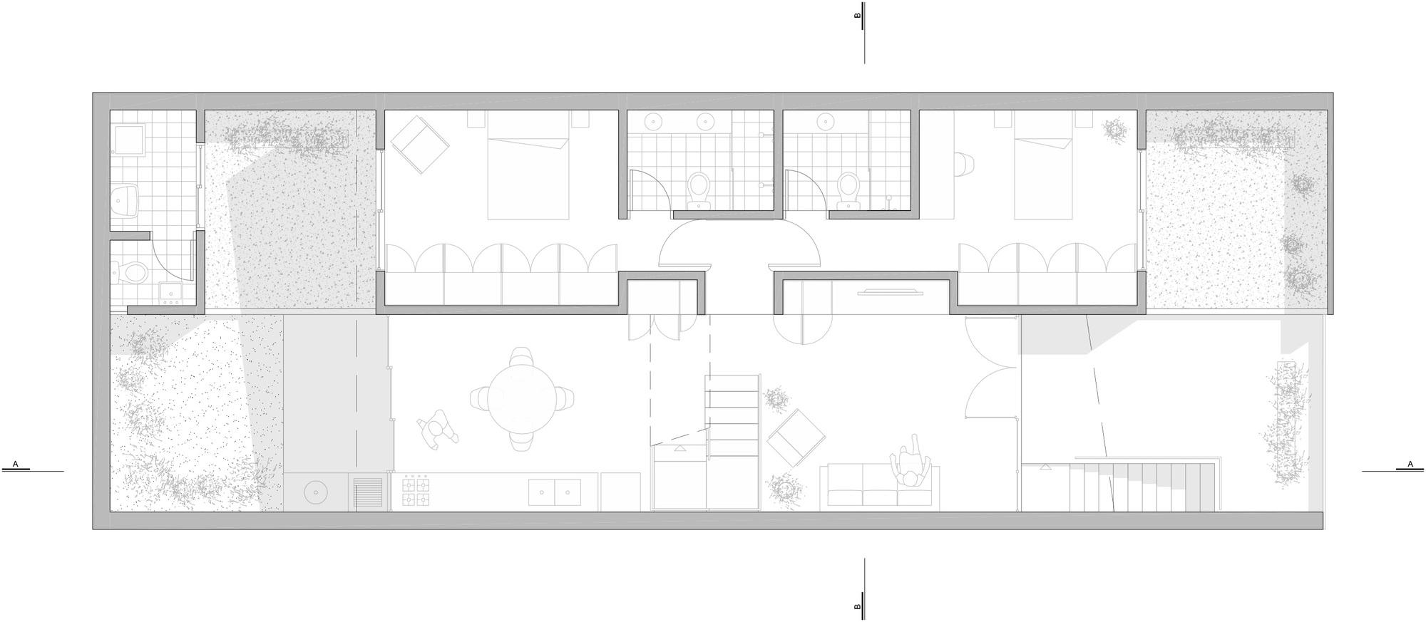 Galeria De Casa Butant 227 23 Sul 20