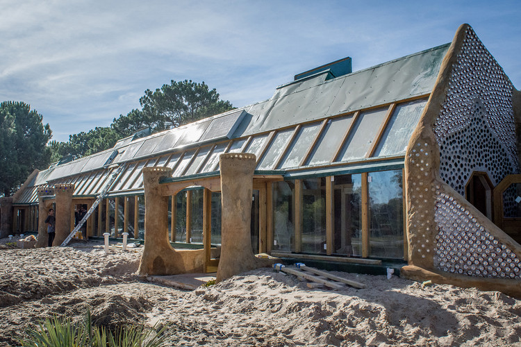 Latin America's First Earthship is a Sustainable School Built from Found Materials, via Earthship Biotecture / Tagma