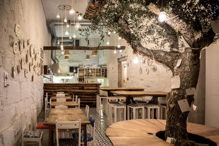 Restaurante La Piada / LIBB + Nuno Felgar, © Tiago Mendes