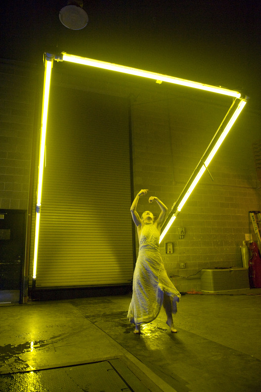 Call for Submissions: Olson Kundig Creative Exchange Residency Program, Olson Kundig collaborated with Degenerate Art Ensemble (DAE) to present 'Underbelly' at the Seattle Center as part of the World's Fair 50th anniversary. Photo courtesy of Bruce Clayton Tom.
