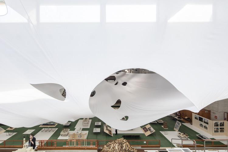 "Por dentro do ""Pavilhão Báltico"" na Bienal de Veneza 2016 , © Laurian Ghinitoiu"