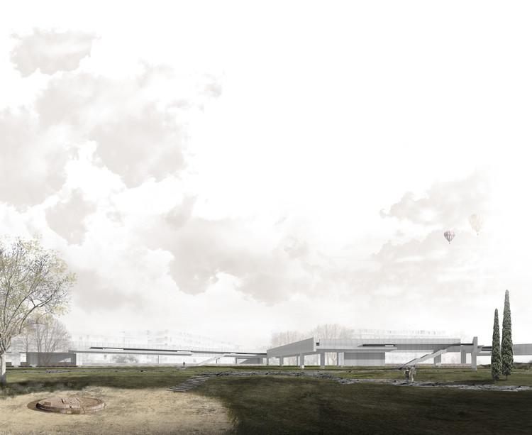 ¿Cómo encajar un sitio arqueológico en una ciudad contemporánea? Una propuesta para Sicilia, Cortesía de José Bordallo