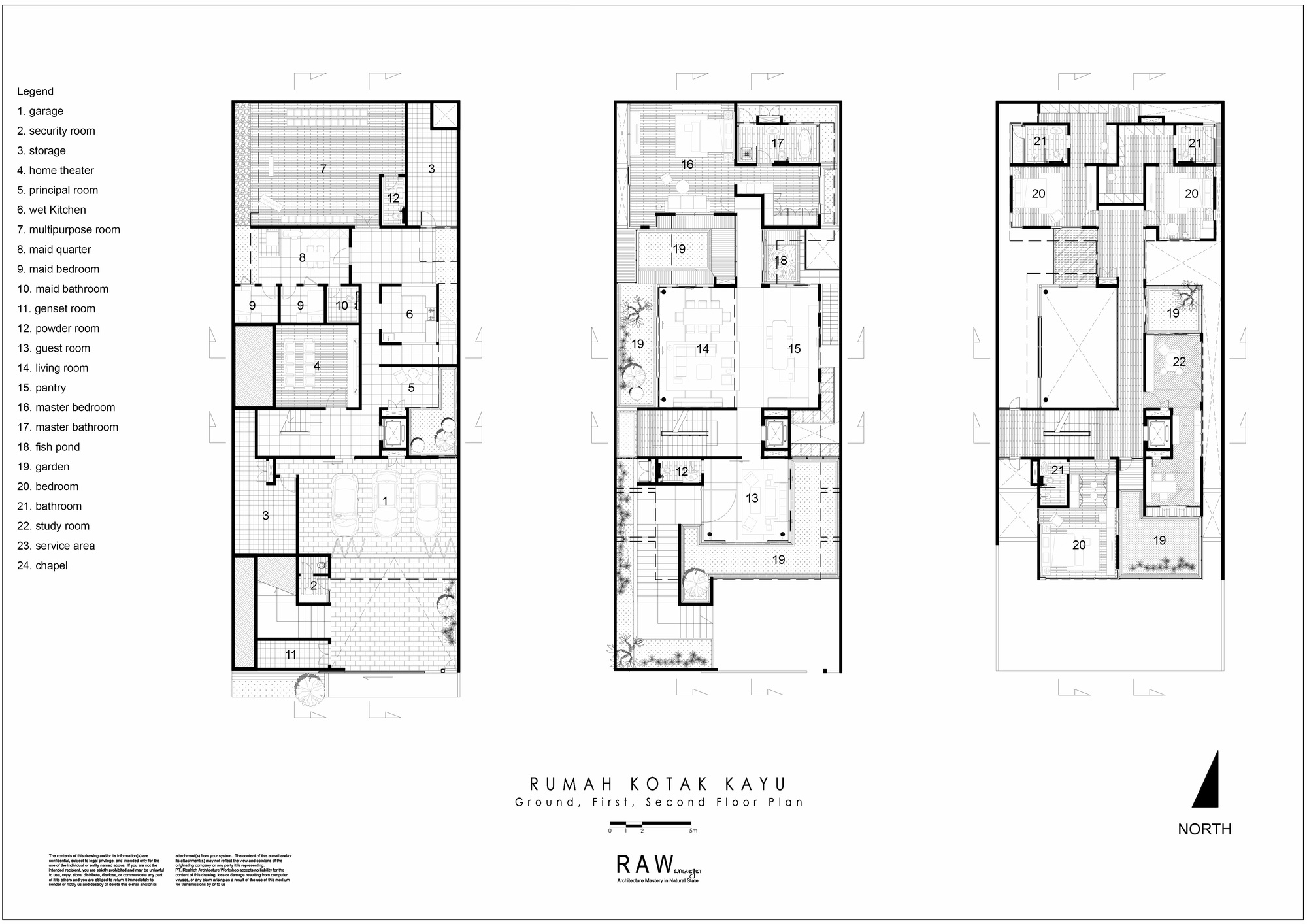 U Shaped House Floor Plans Gallery Of Wirawan House Raw Architecture 15